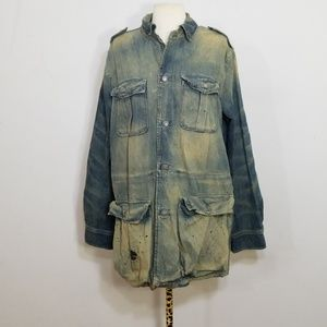 Polo Ralph Lauren Billis Safari Denim Jacket Med